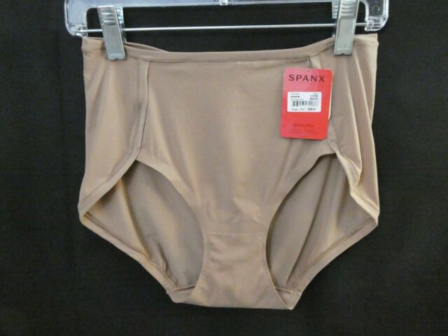 Spanx But Naked Next to Nothing Thong 1584 Microfiber One Size