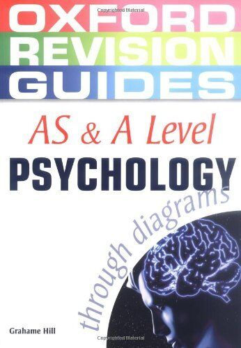 AS and A Level Psychology through diagrams (Oxford Revision Guides) By Grahame