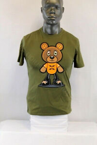 BKYS S/S BUDDY BEAR T-SHIRT OLIVE GREEN/MULTICOLOR DT121OLV