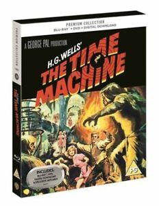 The Time Machine UK Premium Collection Blu-ray DVD Digital HD Ltd Ed Art C