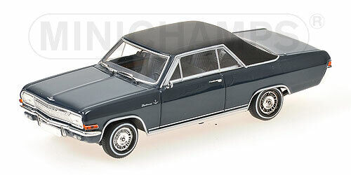 MINICHAMPS Opel Diplomat V8 Coupe 1965 (bluee) 1 43 400048021