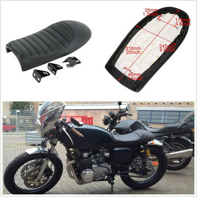BLACK /& ROYAL BLUE CUSTOM FITS MZ RT STRIKER 125 DUAL LEATHER SEAT COVER ONLY