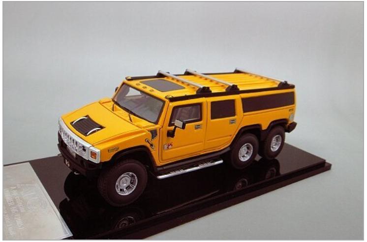 1/43 Hummer H6 Limousin, Amarillo