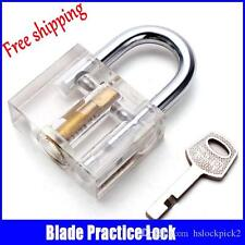 Disc Type Padlock with Disc Detainer Lock Pick Bump Key Tool Locksmith Training