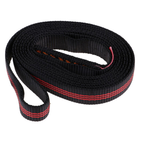Polyester Rock Climbing Sling Bearing Strap Flat Belt Outdoor Rope Protector