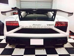 Dry Carbon Dmc Rear Spoiler Fit For 08 12 Lamborghini Gallardo Lp550