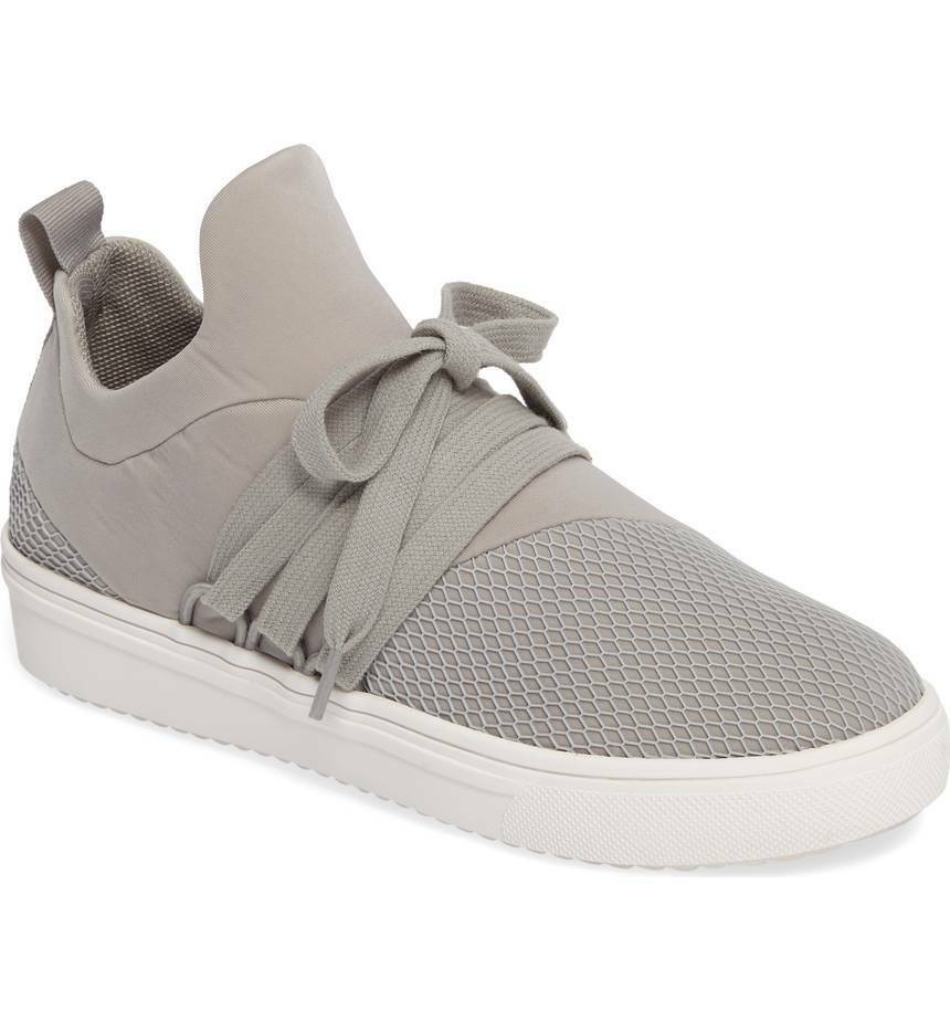 Steve Madden Lancer Casual Sneakers Athleisure Comfy shoes Grey Size 9.5