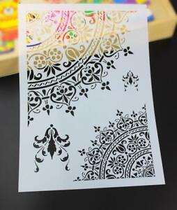 Details About Diy Craft Mandala Stencils For Walls Painting Scrapbooking Stamping Card Flower