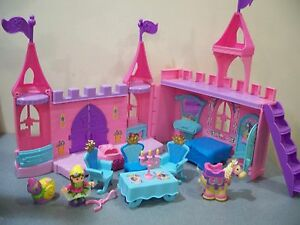 fisher price little people pink dance n twirl royal castle palace