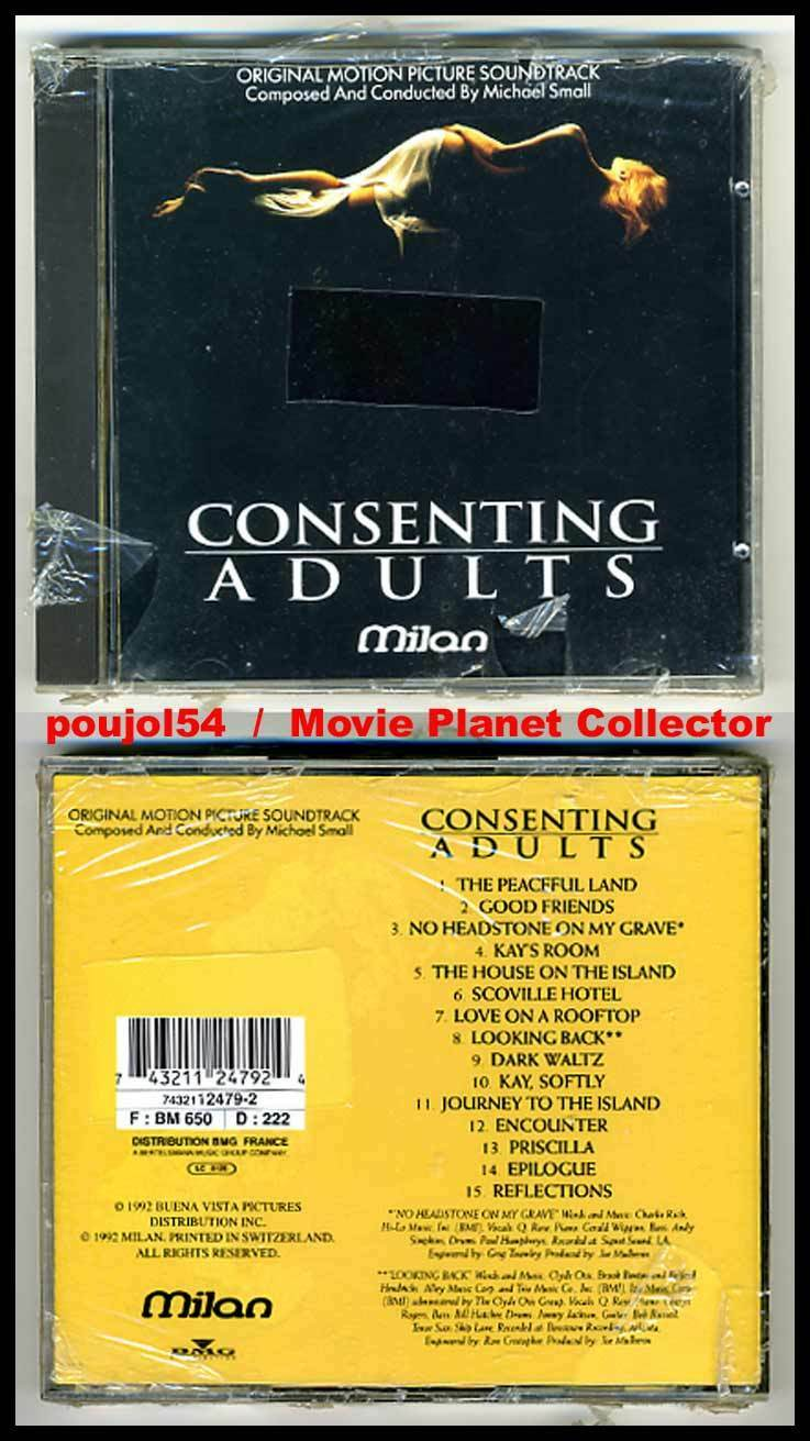 Consenting Adults (Adult Games) (cd standout/ost) michael small 1992