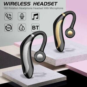 Mpow Ear Hook Bluetooth 5.0 Headphone Wireless Headset Earphones Hands free New