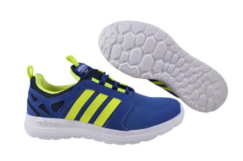 Adidas Neo Cloudfoam Sprint blue syellow conavy Sneaker Schuhe blau AQ1489