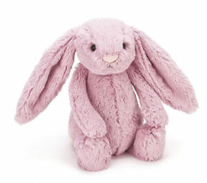 Jellycat BAS3BTP Bashful Bunny Rabbit Plush Toy