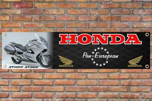 Honda Pan EuropenST1100-1300PVC Banner Poster SignGarage Workshop|RB041