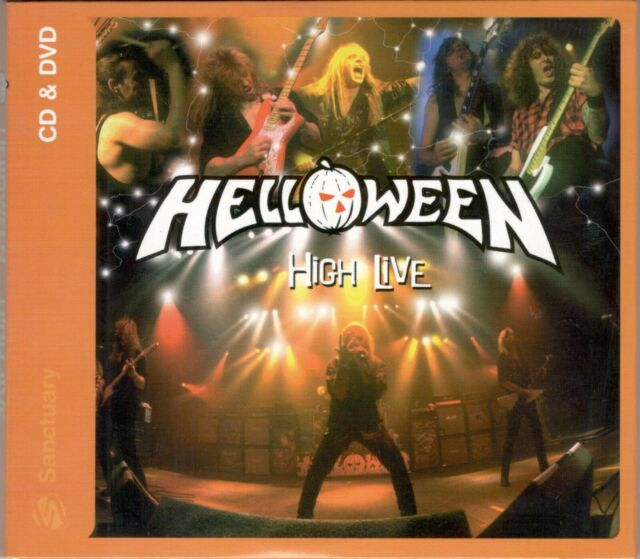 high live 2 CD+ DVD HELLOWEEN  ( HARD TO FIND )