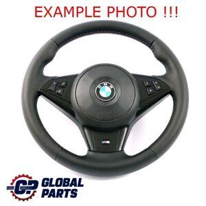 BMW 5 6 Il E60 E61 E63 E64 LCI Neuf Épais Cuir M Volant Sport Volant 3 Couleurs