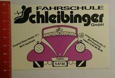 Aufkleber/Sticker: Fahrschule Schleibinger Kösching Ingolstadt (070816179)
