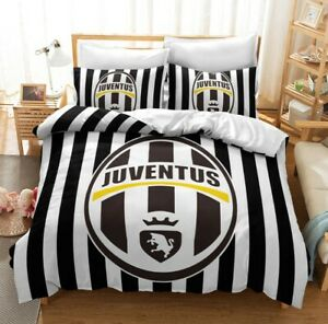 3d Juventus Football Club Bedding Duvet Qulits Cover Comforter Cover Pillow Case Ebay