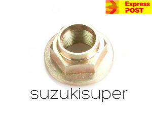 FITS SUBARU FORESTER 2.5 DRIVESHAFT NUT CV JOINT HUB NUT 2004/>ON