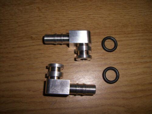 Ángulo trozos puerto ángulo gasolina bomba fuel pump Lancia Delta Integrale plata