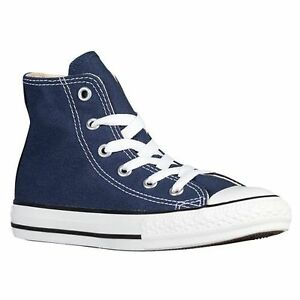 c6df0b4e8fc24c New Converse All Star C T Hi Top Sneaker Unisex BOYS GIRLS KIDS Navy ...