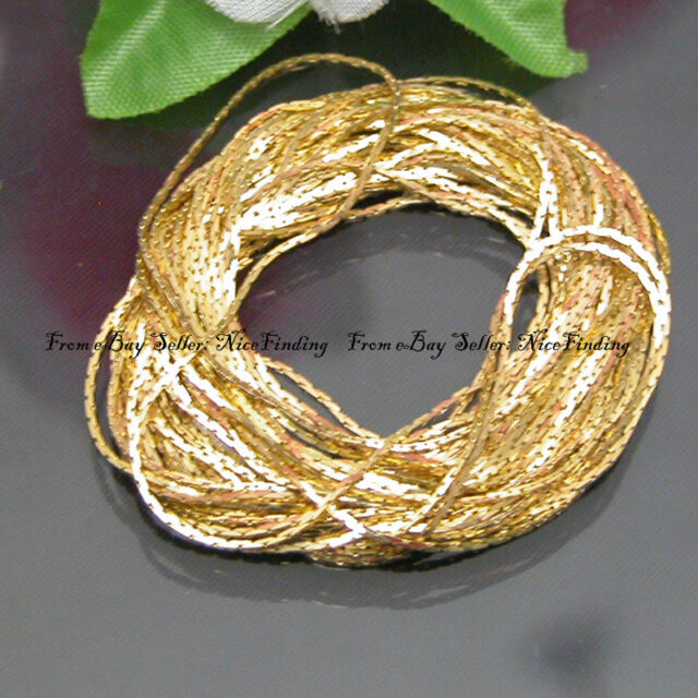 5 Meters Yellow gold Plated Chain Finding For Jewelry Making Necklace DIY
