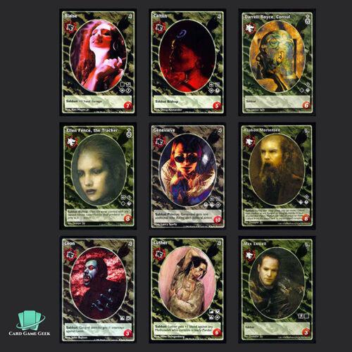 Vampire Eternal Struggle VTES Jyhad A 9x Gangrel Antitribu Vampires G2