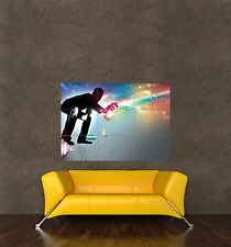 POSTER PRINT PAINTING COMPOSITION GRAFFITI ARTIST TAGGING SPRAY PAINT SEB138