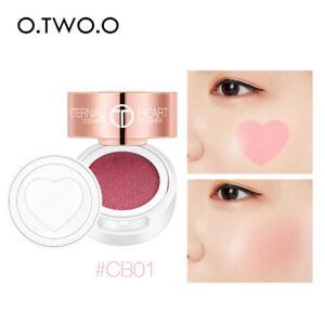 Air-Cushion-Blusher-Folding-Heart-Shape-Shimmer-Blush-Rouge-4-Colors-Makeup