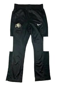 Nike-Women-039-s-Med-Colorado-Buffaloes-Rivalry-Team-Issued-Basketball-Pants-Black