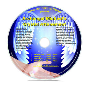 Details about Angel Guided Meditation CD No 52 - ARCHANGEL MICHAEL -  CRYSTAL ATTUNEMENT