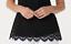 thumbnail 3 - Isaac-Mizrahi-Live-Scoop-Neck-Scallop-Lace-Knit-Tank-Top-Black-XS-A353856-QVC