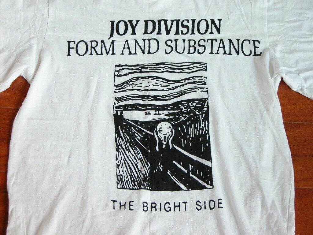 Joy Division The Bright Side T Shirt XL Great Condition SCREAM Form & Substance