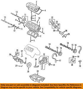 For Honda CR-V Civic 99-01 Drive Belt Idler Pulley Genuine 38942 P2K T01