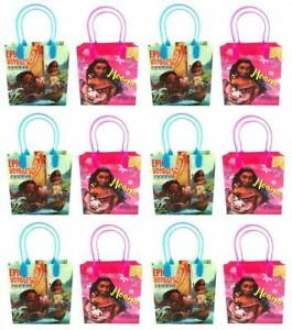 Image Is Loading 12PCS Disney Moana Amp Maui Goodie Bags Birthday