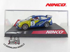 NINCO-50249-SEAT-CORDOBA-034-TELEFONICA-034-4WD-NC1-2-SLOT-SCALEXTRIC-NUEVO