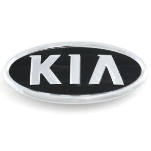 Side Front Trunk Hairline Slim Emblem Point Badge Accessory 1p for KIA Sedona
