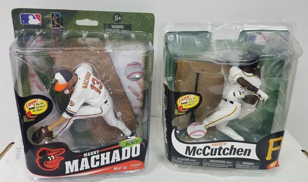 2013 Andrew McCutchen 2014 Manny Machado Variant McFarlane Figures NIP