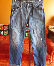 30x32 AMERICAN EAGLE   Mens  LOOSE FIT  DISTRESS FADE JEANS 33x31 FIT