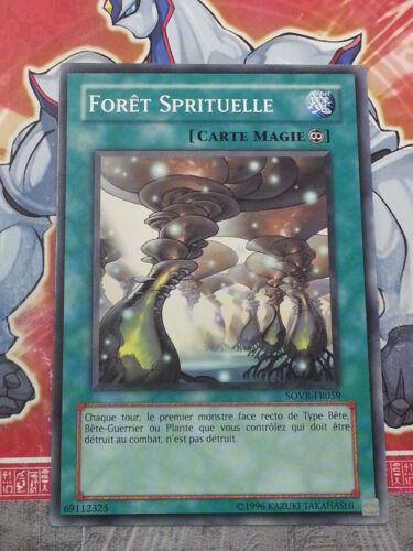Carte YU GI OH FORET SPIRITUELLE SOVR-FR059 x 3