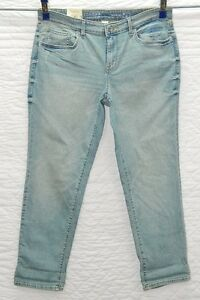aeade0e2 NEW Ladies Sonoma Boyfriend Jeans Mid Rise Relaxed Straight Stretch ...
