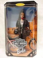Barbie Doll HARLEY DAVIDSON MOTOR CYCLES 22256 Collector Edition 1998 P4