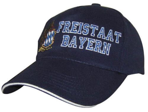 BASEBALLCAP CAP BERRETTO schirmmuetze muetze con stick Freistaat Baviera 68158