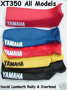 New Xt350 Yamaha Seat Cover Funda Asiento Housse De Selle