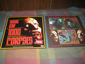 ROB ZOMBIE-(house of 1000 corpses)-1 POSTER-2 SIDED-12X12-NMINT-RARE