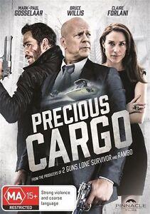 Precious-Cargo-DVD-2016-R4-Terrific-Condition-Bruce-Willis