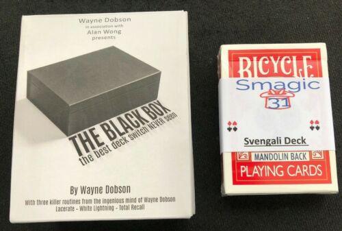 Free Svengali Deck Free Shipping The Black Box By Wayne Dobson And Alan Wong Magic Tricks