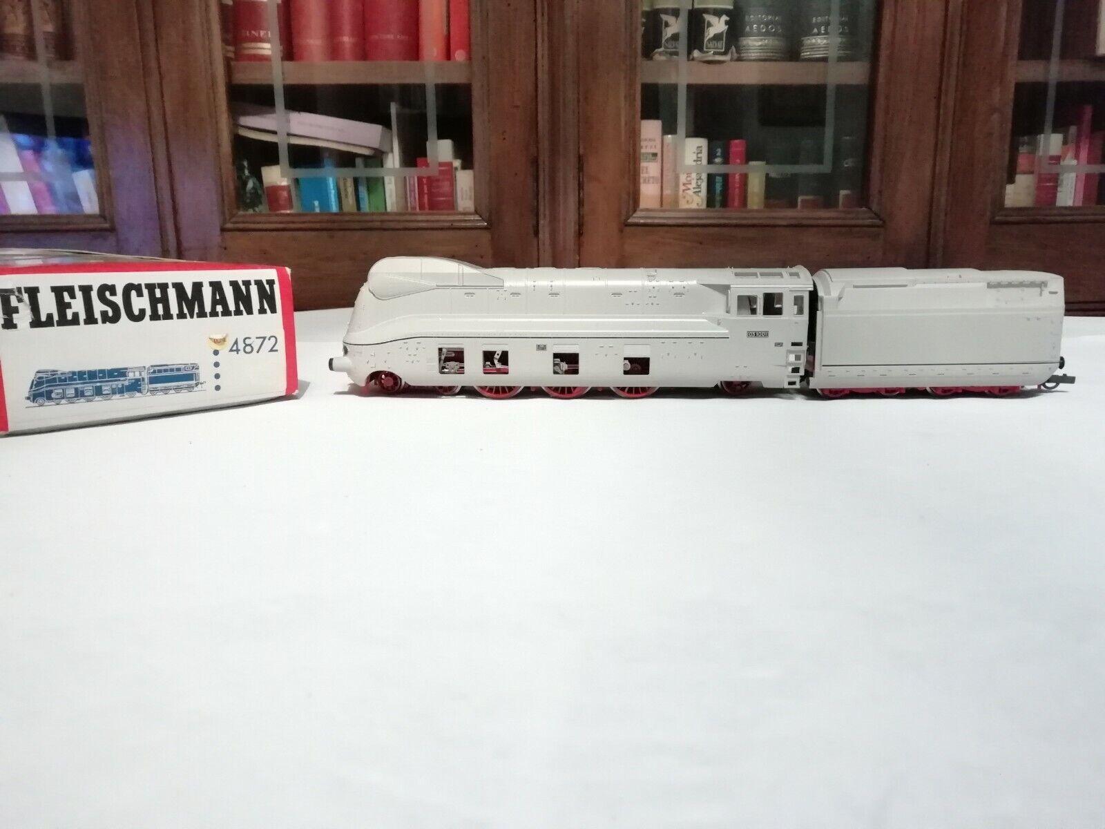 Fleischuomon H0 4872 Locomotora Vapor BR 03 1001 DR BORSIG Digital Nuevo nuovo OVP