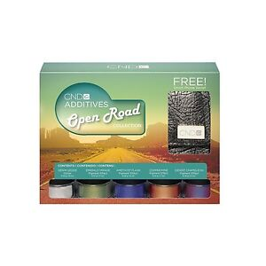 CND-Open-Road-Nail-Additives-5-Color-Pigment-Glitter-amp-Phone-Wallet