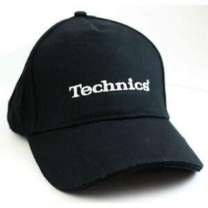 Image is loading Technics-Baseball-Cap-in-black-Official-Merchandise 3d547a46f11